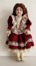 "Court Of Dolls Porcelain Victorian Style 22"" Doll Amelia"