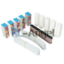 Nail Art Sanding Files Buffer Block 40PCS Manicure Pedicure Tools UV Gel Set New