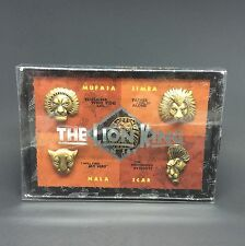 Disney's The Lion King Broadway Musical 5 Pin Set From Broadway National Tour