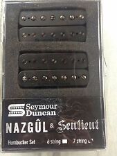 Seymour Duncan Nazgul And Sentient Neck 7 String Pickup Humbucker Set 11108-96-B