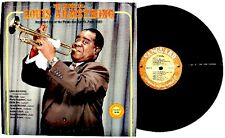 LOUIS ARMSTRONG: The Essential / Paris 1965 LP VANGUARD RECORDS 2XLP US 1976 NM