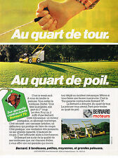 PUBLICITE ADVERTISING 044   1979    MOTEURS BERNARD    tondeuses