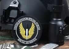 SAS Special Air Service UK Army Special Forces PVC Hook/Lp Patch