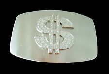 DOLLAR SIGN MONEY RHINESTONE HIP UNISEX GIFTS BELT BUCKLES BOUCLE DE CEINTURE