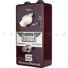 Seymour Duncan Pickup Booster SFX-01 Clean Boost Guitar Effects Pedal Brand NEW