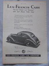 1946 Lea-Francis cars Original advert No.3