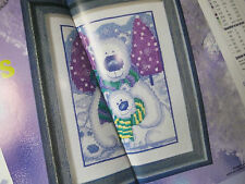polar bear cross stitch CHART PATTERN ONLY ch60