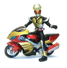 "Japanese Manga Anime Rangers MASKED RIDER 6"" figure on Bike Style 1"