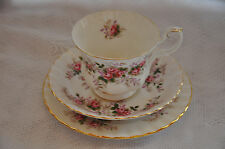 Pretty Royal Albert Cup Saucer & Plate Trio in 'Lavender Rose' Pattern