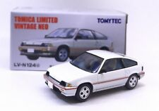JAPAN TOMYTEC TOMICA LIMITED LV-N124D HONDA BALLADE SPORTS CR-X CRX WHITE 1/64