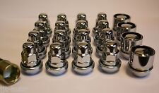 M12 X 1.5 VARIABLE WOBBLY ALLOY WHEEL NUTS & LOCKS TOYOTA MR2 TURBO NADIA PREVIA