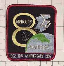 Mercury 8 30th Anniversary Patch - Schirra - 1962-1992 - NASA