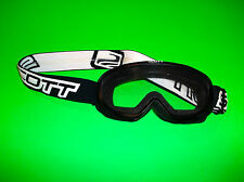 SCOTT BLACK BEGINNER YOUTH QUAD BMX ATV UTV MOTOCROSS MOUNTAIN DIRT BIKE GOGGLES