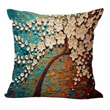 Fashion Cotton Linen Pillow Case Waist Back Throw Cushion Cover Home Sofa Decor