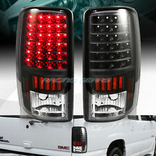 Black Housing Red LED Tail Lights Lamps Fit 00-06 Chevy Tahoe Suburban 1500 2500