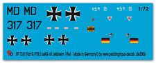 Peddinghaus  1/72 1261 Fiat G.91 R /3 LE KG 44 Leibheim 1966