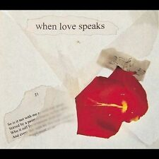 When Love Speaks by Various Artists (CD, Apr-2002, EMI Classics)
