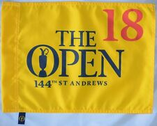 2015 OFFICIAL (St. Andrews) BRITISH OPEN Golf FLAG
