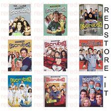 SCRUBS (DVD) serie completa stagioni 1-9 (cofanetti singoli) nuovo italiano