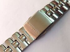 20mm ACCIAIO INOX LUCIDO CITIZEN GENTS WATCH STRAP dritto fine (cz1)
