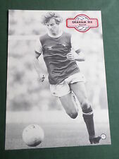 GRAHAM RIX - ARSENAL -1 PAGE PICTURE- CLIPPING/CUTTING