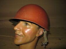 WW2 US M1 FRONT Seam Schlueter 464A JUL 1943 Helmet Shell