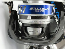 Daiwa Saltiga 6500 Reel 2013 Japan Model W/U.J. PA001 ARM PRK45 knob BLUE/SILVER