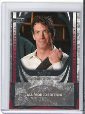 2004/05 UD HOCKEY ALL-WORLD EDITION UP CLOSE AND PERSONAL JOE SAKIC 99