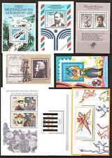 Sd124) federal blocklot 1964-1994 completamente post frescos, 28 bloques, véase 5 imágenes