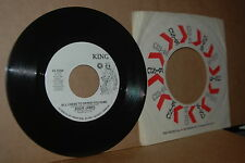 EDDIE JAMES: ALL I HAVE TO OFFER YOU IS ME & REAP WHAT YOU SOW KING 639 MINT- 45