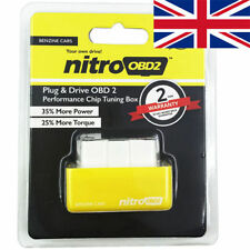 Obd2 chip tuning remappage box plug in & Drive. fits CHRYSLER LOTUS ROVER SEAT SKODA
