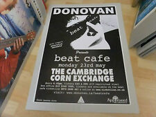 DONOVAN SIGNED POSTER