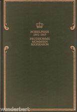 *- Nobelpreis für LITERATUR 1901-1903 - PRUDHOMME/Mommsen/BJOERNSON  gebunden