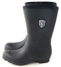 Kamik Women's Jenny Waterproof Mid Calf Rubber Rainboot Black Size 9
