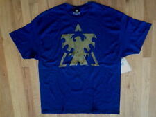 NWT JINX Navy Blue Graphic Gold Eagle in Triangle T- Shirt, Sz. XL (S-T-121)