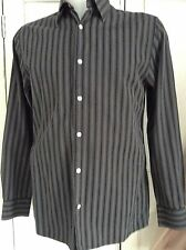 Medium Size 15 Jaeger Mens Casual Striped Shirt bought for £75