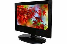 Pushbrite 16 inch Portable LED TV with HD Display USB VGA HDMI SD Card Support