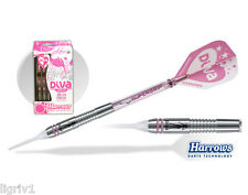 Harrows Dart Diva 54932 85% Tungsten Pink Soft Tip Dart Set 18 Gram  - Set of 3