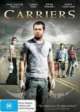 CARRIERS DVD Lou Taylor Pucci Chris Pine Piper Perabo Emily Vancamp SEALED R4