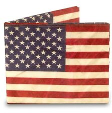 TYVEK USA Stars and Stripes Design Mighty Wallet By Dynomighty Wallets DY651