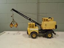 Tonka Mighty Turbo Diesel Crane Truck Boom Vintage 1970s Rare Smaller Wheels