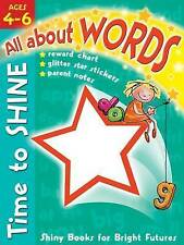 Activity Book for Kids Ages 4-6: Learn All About Words - Educational Book