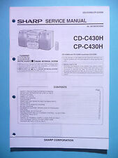 Service Manual-Anleitung Sharp CD-C430H/CP-C430H ,ORIGINAL
