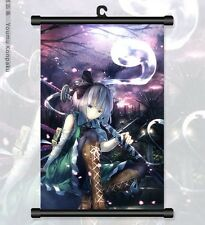 "Japanese Anime Touhou Project Cosplay Home Decor Wall Poster Scroll 8""x12"" 01"