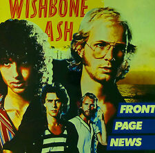 """Wishbone Ash - Front Page News - 12"""" LP - C296 - washed & cleaned"""