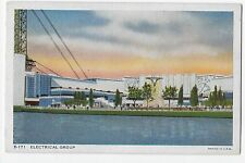 Vintage Postcard Chicago's 1934 International Exposition Electrical Group