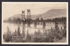 Circa 1915 - 1930 Real Photo RPPC Postcard KAMLOOPS Bridge, British Columbia