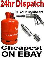 Orange Cylinder Adaptor  Fill your bottles at the autogas station SAFETY VALVE