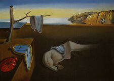 "The Persistence of Memory   by Dali  14""  Paper Print Repro"