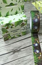 My Neighbour Totoro forest washi tape 15mm wide 10m roll kawaii